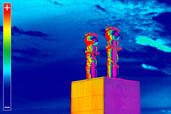 Thermal Imaging Smoke Stack