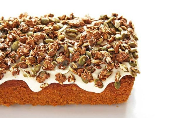 Pumpkin Loaf with Pepita Crunch