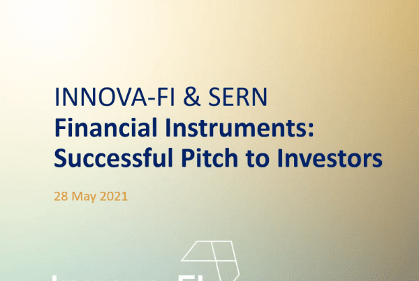 successful pitch to investors