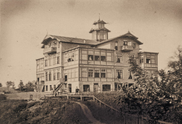 A proud house in a beautiful location, ca. 1890, © City Archives and City Library Sassnitz