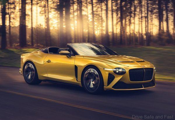 Bentley Mulliner Bacalar front