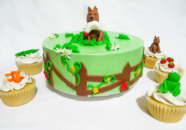 Vegan Fondant Animals