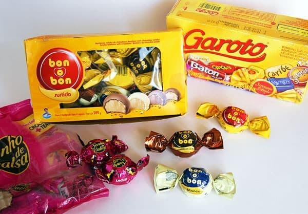 South American Chocolate Candy