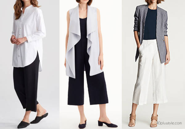 easy fit summer work clothes for women | 40plusstyle.com