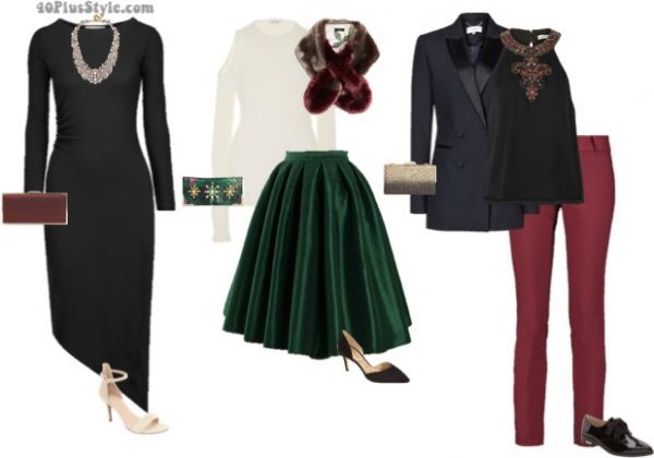 classic blazer holiday party outfits | 40plusstyle.com
