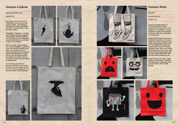 Tote Bag Book Gemma Latimer Gemma Shiel Lazy Oaf