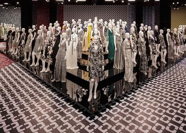 Diane von Furstenberg wrap dresses exhibition | 40plusstyle.com