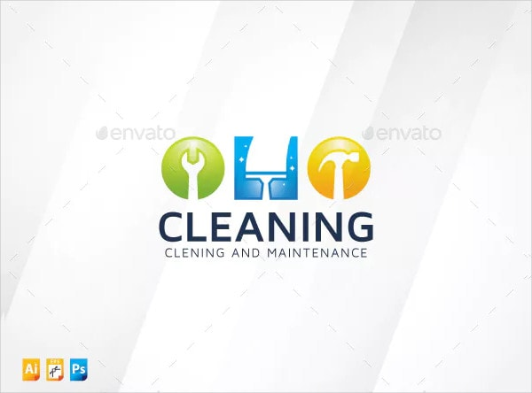 Cool Cleaning Business Logo Templates