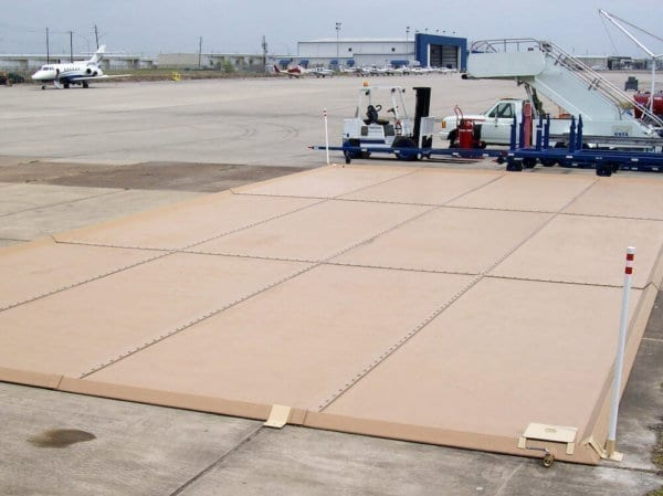 Airport Truck Spill Containment Pad