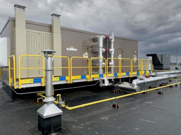 RTU access platform rooftop