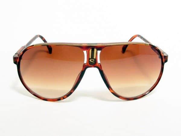 Aviator Sport (brun) - Retro solbrille