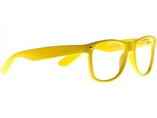 Wayfarer Clear (gul) - Wayfarer solbrille