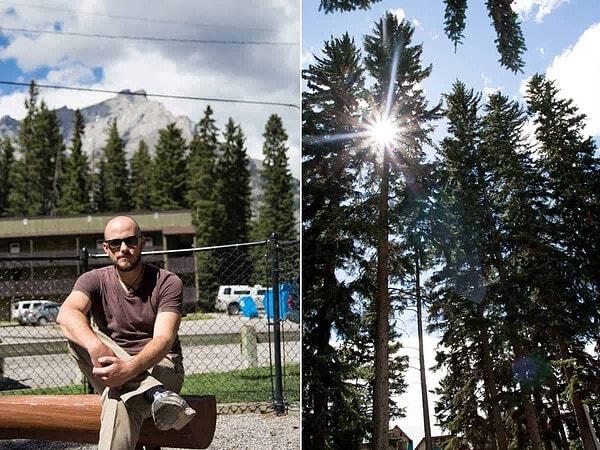 Konrad in Banff Alberta