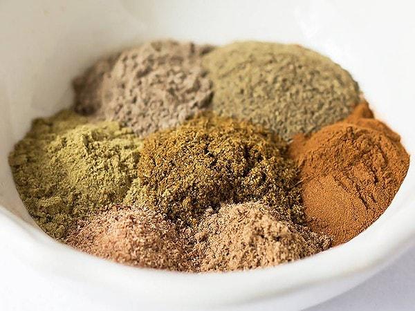 Garam Masala Ingredients in Bowl