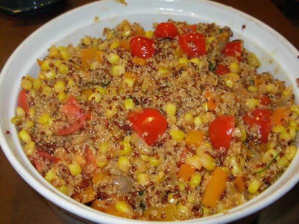 Andean Quinoa Corn Salad