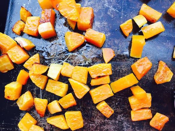 Roasted Butternut Squash—easy peasy.