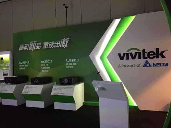 giới thiệu các dòng máy chiếu 4k của vivitek và viewsonic