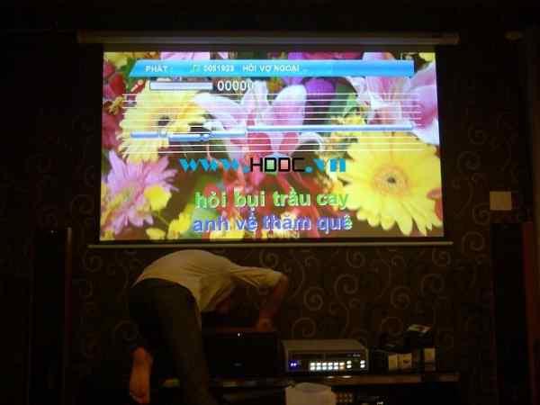 máy chiếu karaoke