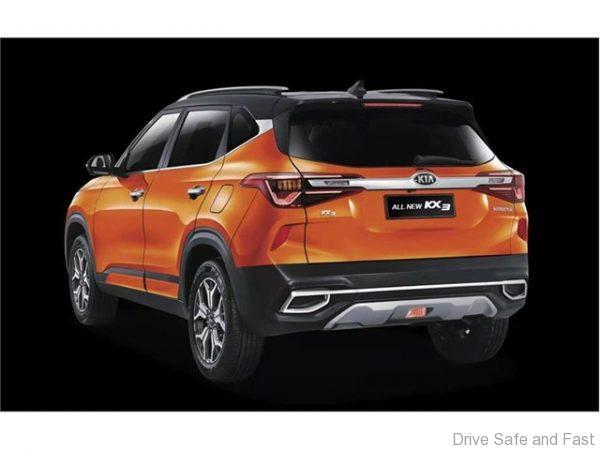 Kia KX 3 Rear
