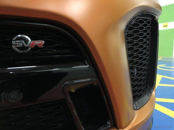 Range Rover SVR Used Certified_front badge