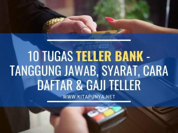 tugas teller bank