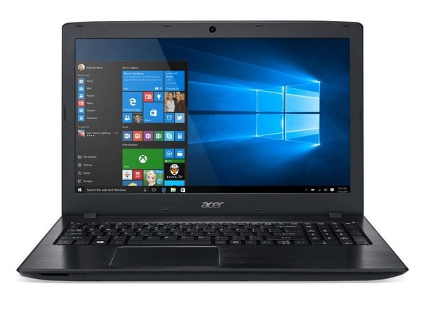 Acer AspireLED Backlit Display Travel Laptop