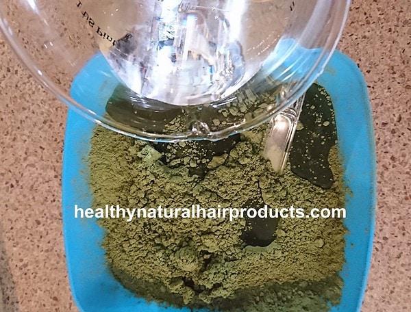 Indigo Powder Mix for Hair Step 1 B