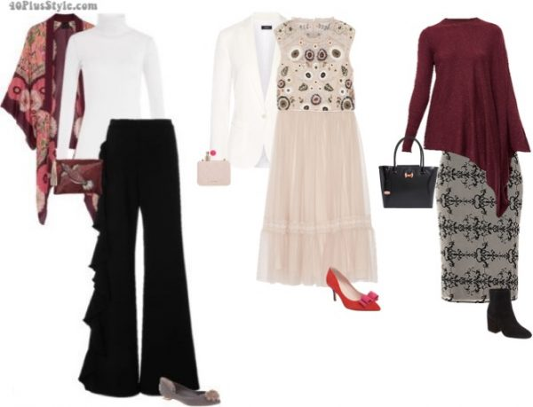 eclectic holiday christmas party looks | 40plusstyle.com