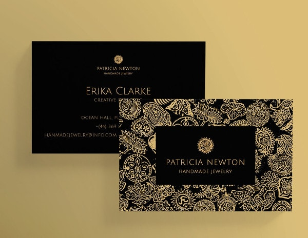 Business Cards for Handmade Jewelry