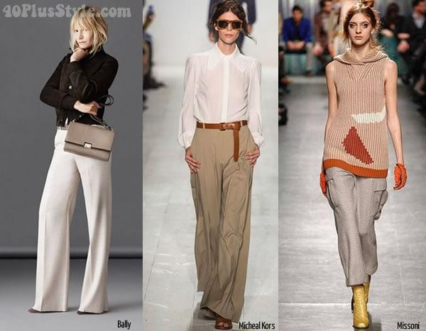 Ideas for wearing beige as a bottom   40plusstyle.com