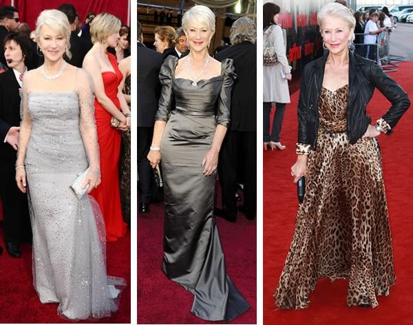 Helen Mirren fashion