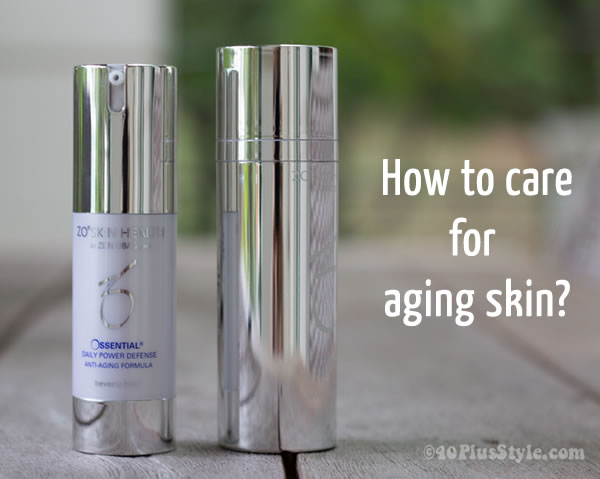 How to care for aging skin? |40plusstyle.com