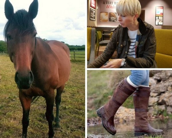 Brown riding boots | 40plusstyle.com