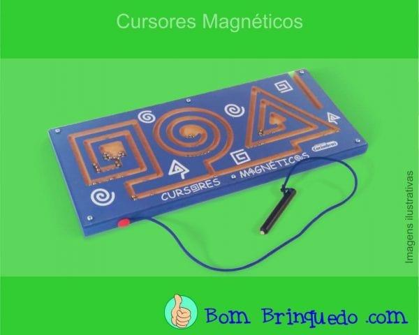Cursores Magnéticos Carimbras Bom Brinquedo