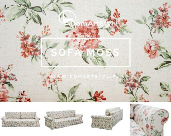 elegancka sofa moss