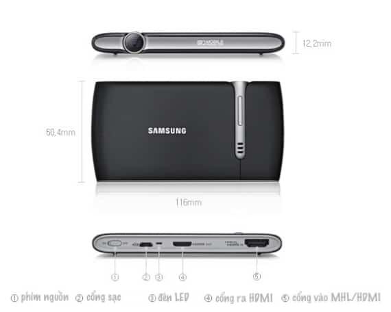 máy chiếu mini Samsung EAD-R10 1