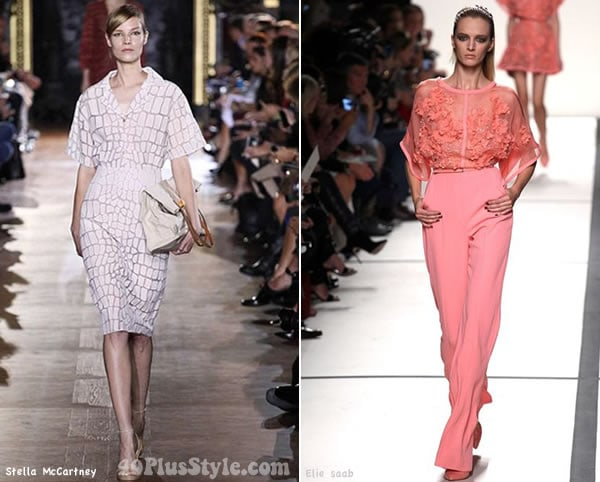 Monochromatic pastel looks for spring 2014 | 40PlusStyle.com