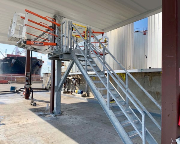Double-sided SafeRack Gangways