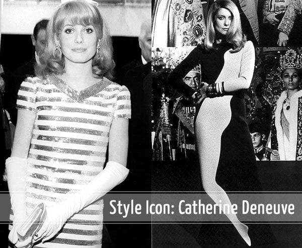 60s style icon Catherine Deneuve continues to inspire! | 40plusstyle.com