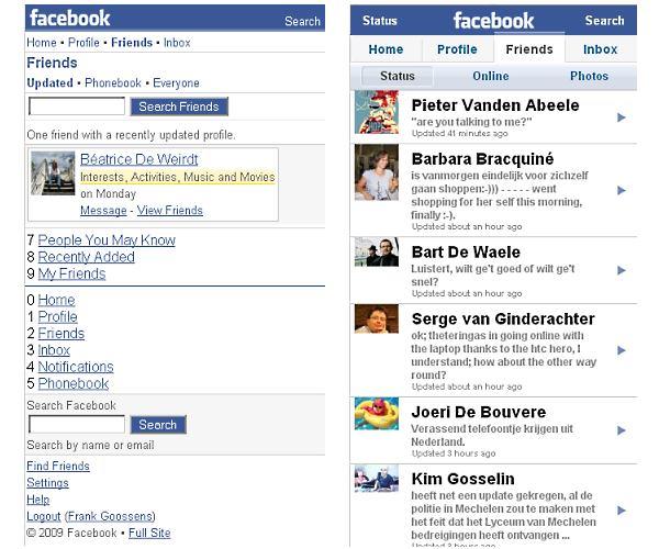 facebook faceoff: friends