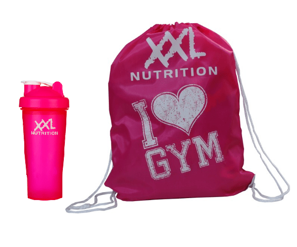 I LOVE GYM - shaker en bag
