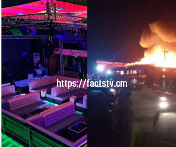 EXCLUSIVE: Las Vegas Snack bar Douala Bonamoussaddi reduced by flames! cause of the fire.