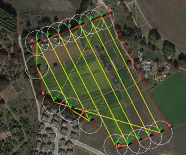 filmare cu drona agricultura