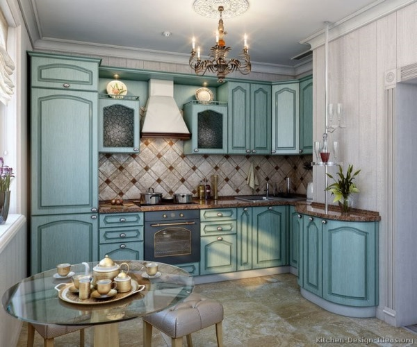 кухня дизайн прованс