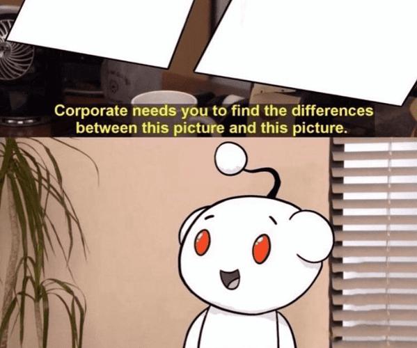 Reddit Blank Meme Template