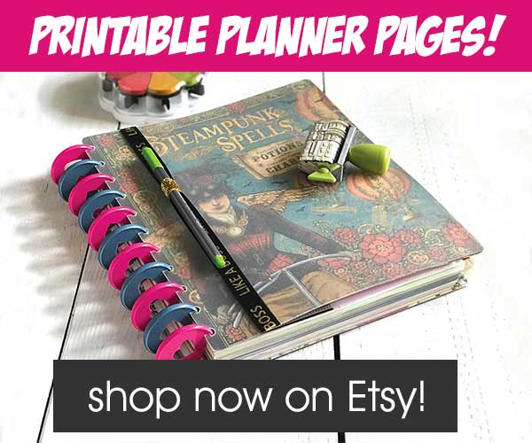 Planner and organizer resource list