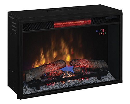 Best electric fireplace insert reviews: Classic Flame 26II310GRA Infrared Quartz Electric Fireplace Insert