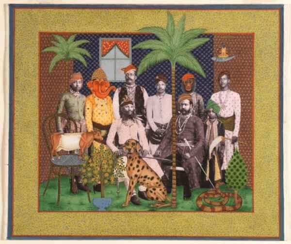 Alexander Gorlizki (b. 1967) and Riyaz Uddin Studio, Quorum. New York and Jaipur, 2008.