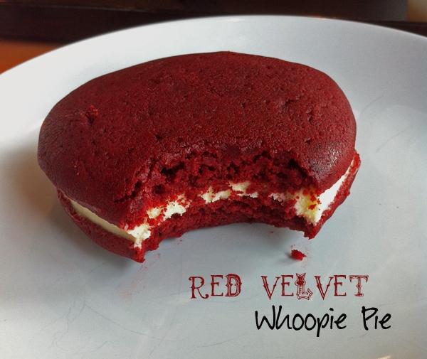 Whoopie Pie on Plate