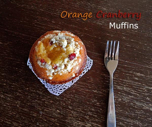 Orange Cranberry Muffin
